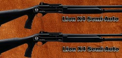 Lion X4 Tactical Semiautomatic Shotgun 12 gauge 3 inch Magnum