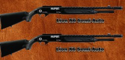 Lion X6 Tactical Semiautomatic Shotgun 12 gauge 3 inch Magnum